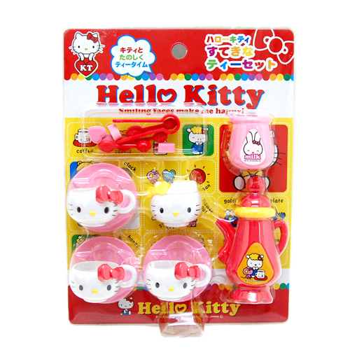 玩具_Hello kitty-玩具杯組-下午茶