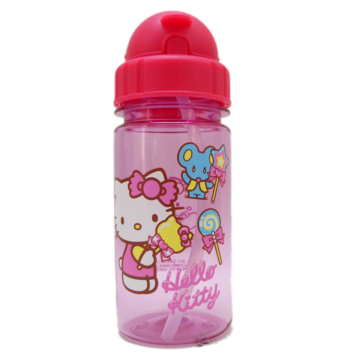 水壼_Hello Kitty-吸管水壺230ML-棒棒糖