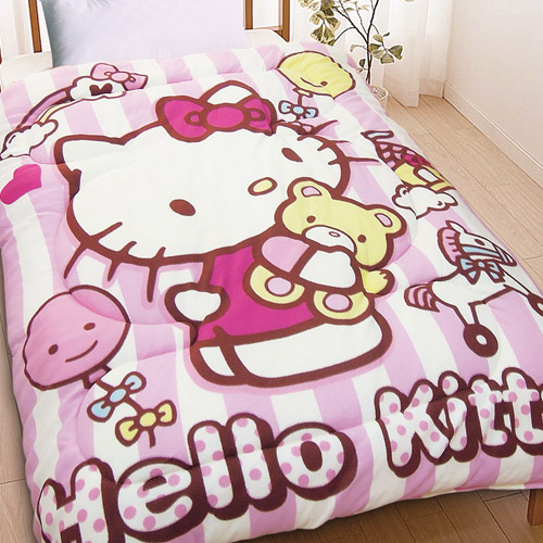 寢具_Hello Kitty-暖暖被- 我的玩具