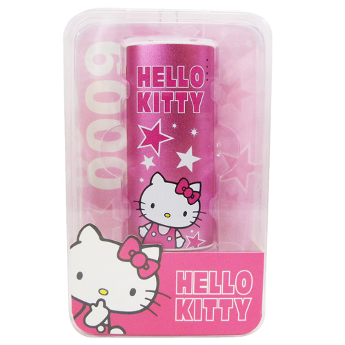 電子3C館_Hello Kitty-行動電源-KT星星粉