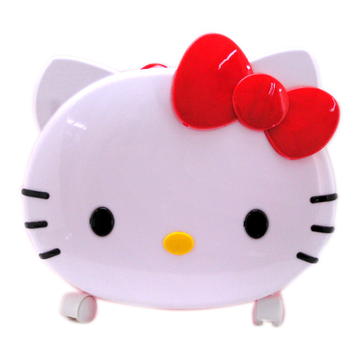 生活日用品_Hello Kitty-頭形移動置物架