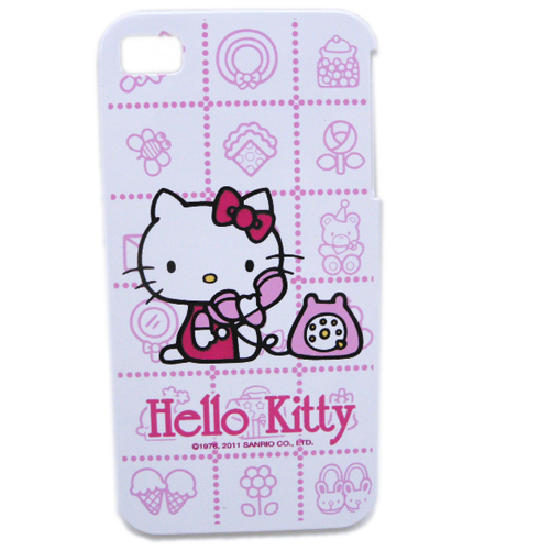 生活日用品_Hello Kitty-IPHONE 4硬殼-電話