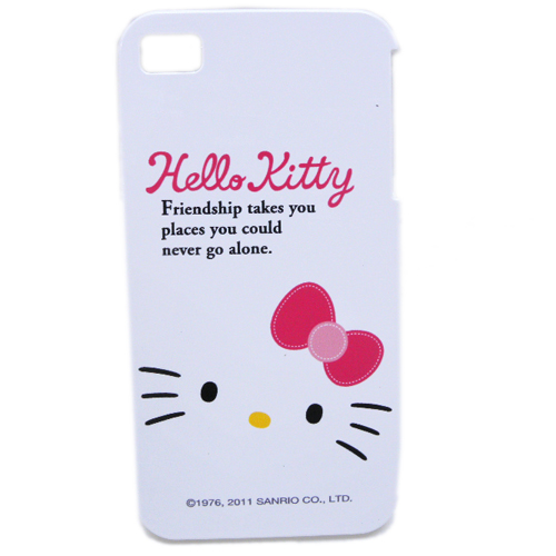 生活日用品_Hello Kitty-IPHONE 4硬殼-大臉