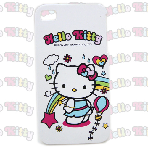 生活日用品_Hello Kitty-IPHONE 4硬殼-跳舞