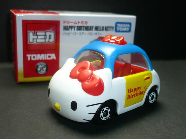玩具_Hello Kitty-TOMY車-KT40th限定
