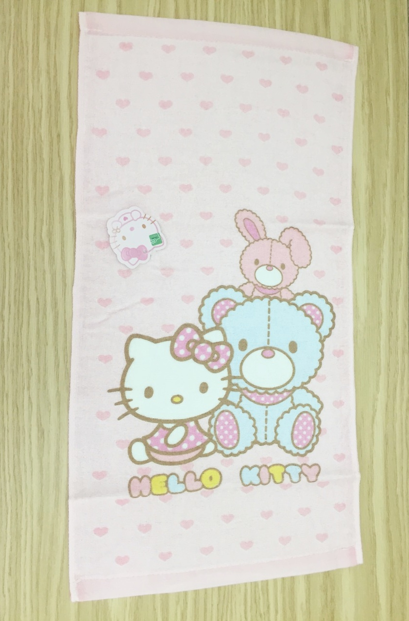 衛浴用品_Hello Kitty- KT毛巾