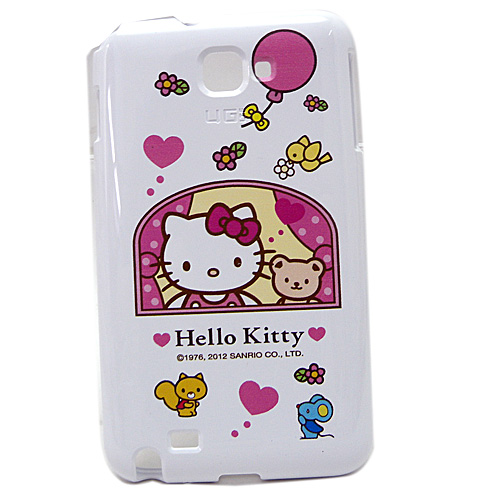 生活日用品_Hello kitty-NOTE保護殼-窗台