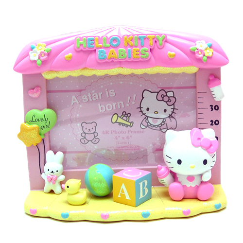凯蒂猫hello kitty_hello kitty-立体陶瓷相框-婴儿